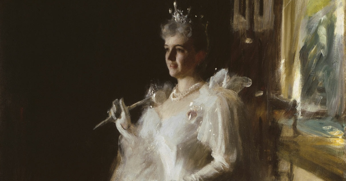 Mrs. Potter Palmer, Anders Zorn, 1893, oil on canvas