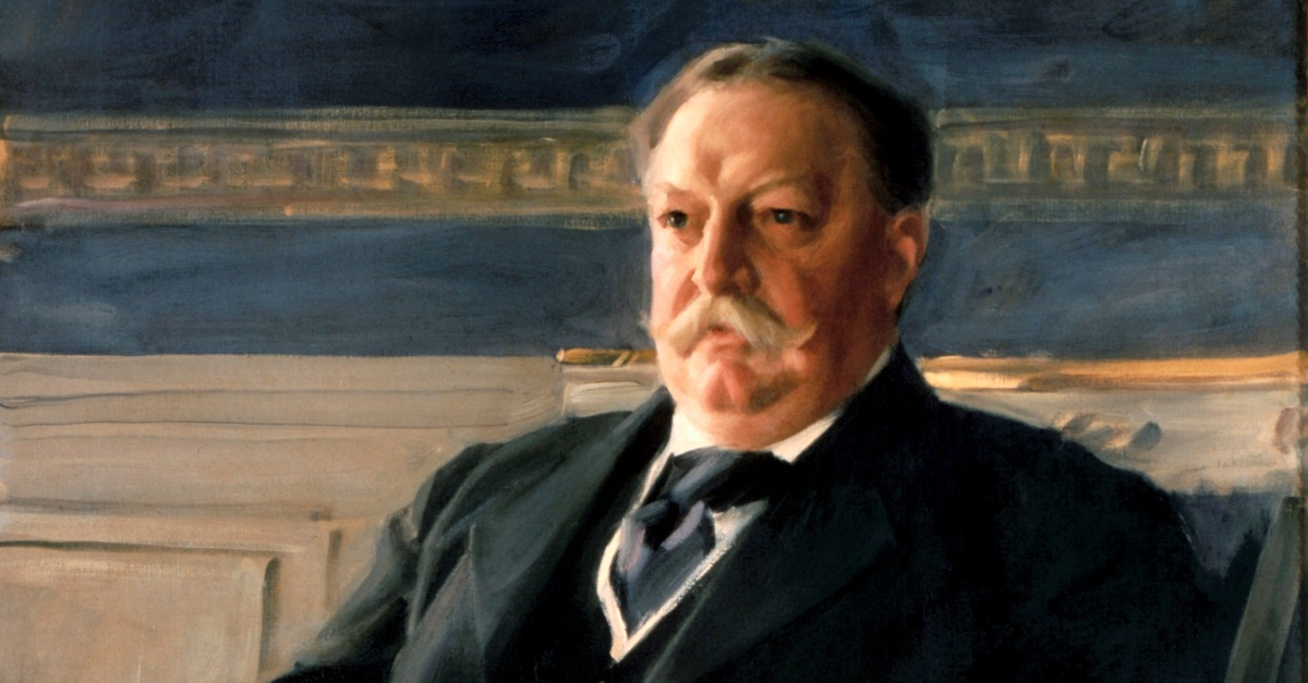 William Taft, Anders Zorn, 1911, oil on cancas, The White House Collection